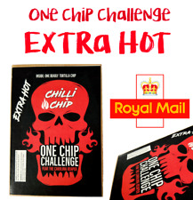 ONE CHIP CHALLENGE .... WORLDS HOTTEST CHILLI CHIP x 1 🔥🔥🔥