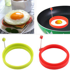 Silicone Egg Omelette Rings Shapes Kitchen Cookers Tool Moulds Fryer