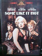 Some Like It Hot (Dvd 1959) Marilyn Monroe World Ship Avail