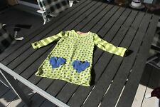 JAKO-O Kleid 100 % Baumwolle Langarm m. aufgesetzten Taschen Gr. 92/98