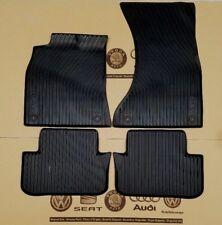 Audi A5 Coupe Cabrio B8 original Fußmatten Gummimatten vorne hinten rubber mats