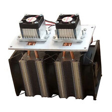 12V DIY 12A 144W Electronic Semiconductor Refrigerator Radiator Double Head kit