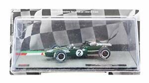 Deagostini Diecast 1:43 F1 Scale Model - Denis Hulme Brabham BT24 Race Car 1967