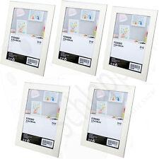 5 Stück Set IKEA FISKBO (13x18cm.) Weiß / Bilderrahmen/ Fotorahmen/ Neu/ OVP w2