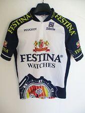 Maillot cycliste FESTINA Tour de France 1996 Virenque maglia shirt Peugeot XS