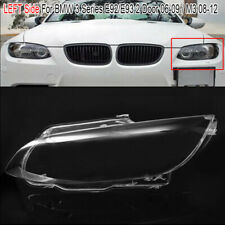Clear Front Headlight Lens Cover Driver Side For BMW M3 E92 E93 3-Series 06-09