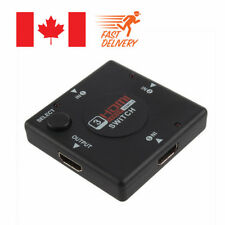 Hdmi 3 Port Switch AUTO Switcher Splitter Selector HUB Box Cable HDTV HDMI v1.4