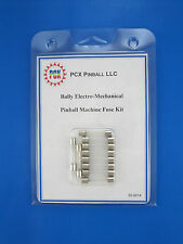 1970 Bally Big Valley Pinball Machine EM Fuse Kit - 10 Fuses