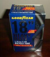 "Goodyear 18 "" X 1.75""-2.125"" Heavy Duty Bike Tube Schrader Valve Tire Levers NEW"