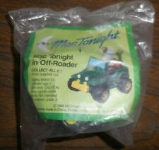 McDonalds Happy Meal Toy 1988 MAC TONIGHT Off Roader Jeep Truck SEALED