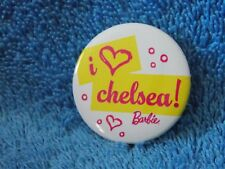 2010 Barbie Doll Convention I Heart Chelsea! Barbie Button Pin