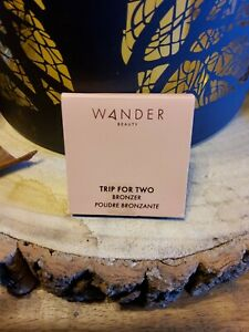 NEW WANDER BEAUTY - Trip for Two to Tahiti Medium BRONZER 2.8g New & Sealed
