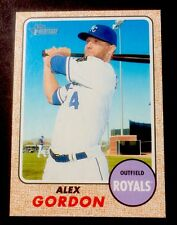 2017 Topps Heritage Baseball #339 Alex Gordon Kansas City Royals Mint