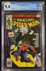 Amazing Spider-Man #194 CGC 9.4 OW/W 1st Appearance BLACK CAT Marvel 1979