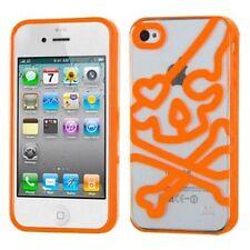 Étuis, housses et coques orange transparent pour téléphone mobile et assistant personnel (PDA) Apple