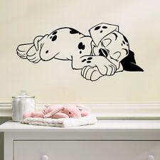 Wandmotiv Messlatte  Wandbild  Wandsticker Wandtattoo  Hund