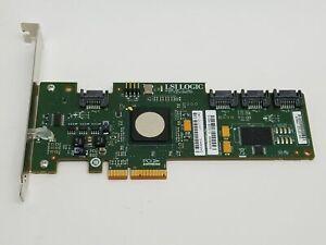 LSI Logic SAS3041E PCIe x4 4-Port 3Gbs SAS/SATA Host Bus Adapter