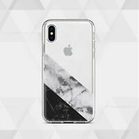 Geometric iPhone 11 7 8 Cover Marbled iPhone XS Max Case iPhone X XS XR 12 SE2