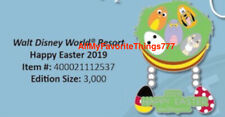 Disney Happy Easter 2019 Walt Disney World Pin WDW LE 3000 Figment Baymax Pluto
