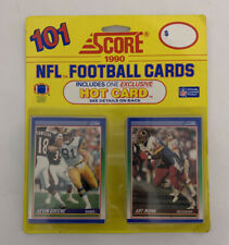 SCORE 1990 NFL FOOTBALL 101 CARD PACK includes one exclusive Hot Card [New]