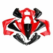 HMParts Quad ATV 150 - 250cc u.a Jingling Bashan Plastik Set rot/ schwarz Typ 3