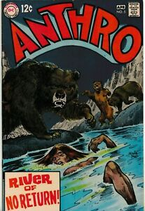 ANTHRO #5 1969 GRADED VG/FN SILVER AGE DC COMICS