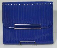 """Ted Baker 11"""" Tablet Case - Blue Leather"""