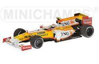 MINICHAMPS RENAULT F1 TEAM car J TRULLI  G FISICHELLA  N PIQUET 2002 2009 1:43rd