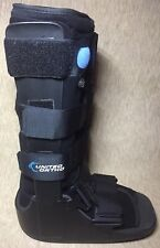 United Ortho Air Cam Walker Fracture Long Boot, Medium, Black
