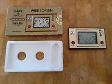 **PARACHUTE** PR-21 ITALIAN Stickers on box! NINTENDO 1981 GAME AND WATCH Rare!
