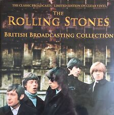 The Rolling Stones British Broadcasting Collection CLEAR COLOURED VINYL LP