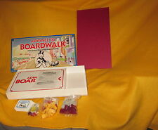 Vintage 1985 Advance to Boardwalk Board Game 100% COMPLETE Parker Brothers
