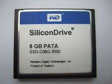 WD SiliconDrive 8GB PATA CF Industrial Temp SSD-C08G-3500