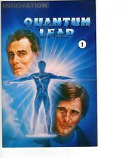 Quantum Leap #1 Comic Book 1991 Innovation Comics - Taylor cover Vf/Nm