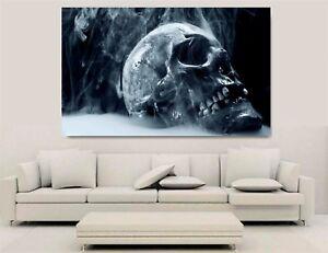 Canvas Wall Art - Gothic Skull