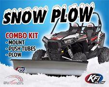 """JOHN DEERE GATOR XUV 550 2012-2015 - KFI UTV 72"""" Snow Plow Combo Kit"""
