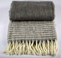 Danish Design Grey Sofa Bed Throw Blanket Plaid 125 x 150 cm