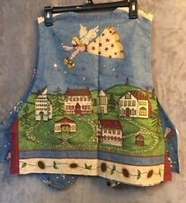 Lot of 3 ~ Partially Finished Project ~ Holiday Christmas Vests Size M ~