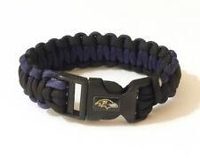 BALTIMORE RAVENS SURVIVOR BRACELET 22802-1 football survival sports jewelry
