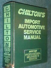 1982-1989 VW TOYOTA NISSAN HONDA MAZDA DATSUN AND MORE SHOP MANUAL / CHILTON'S