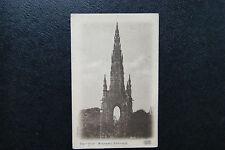 "Vintage RPPC Postcard Postmarked 1904- The ""Scott"" Monument, Edinburgh (24)Vello"