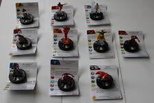 Heroclix guerra caos * * 1 -- 10 todos los 10 figuras conjunto completo de alimentación por gravedad