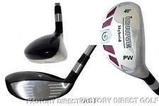 New Left Hand Left Handed PW Pitching Wedge Hybrid Graphite Rescue Iron Wood LH