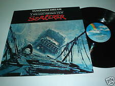 TANGERINE DREAM Sorcerer -77 Soundtrack UK LPkrautrock
