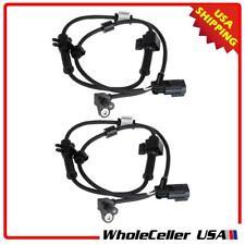 2x ABS Wheel Speed Sensor Front For Chevrolet Trailblazer 02-09 15158254 ALS1337