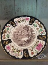 Masons Ironstone CHRISTMAS PLATE 1975 WINDSOR CASTLE collectors display 10""