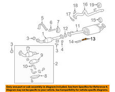 TOYOTA OEM Exhaust-Front Pipe Bolt 9008010291