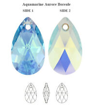 Genuine SWAROVSKI 6106 Pear Shape Crystal Teardrop Pendants * All Colors & Sizes