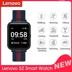 Lenovo S2 Smart Watch Fitness Tracker Wristband Heart Rate Call Notification GOO
