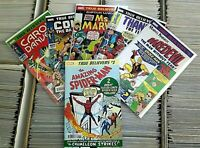 ASM#1-Daredevil#1-Thanos 1st -Ms Marvel -Conan- Carol Danvers- TRUE BELIEVER LOT